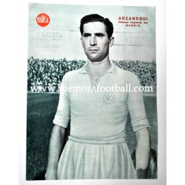 ARZANEGUI Real Madrid CF 1940s