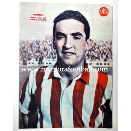 CAMPOS Atlético Aviación 1940s