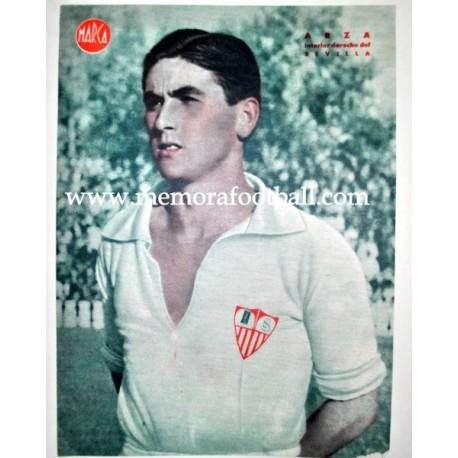 CUQUI BIENZOBAS Deportivo de la Coruña 1940s