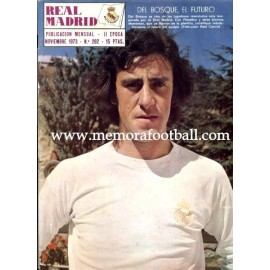 Real Madrid magazine, November 1973