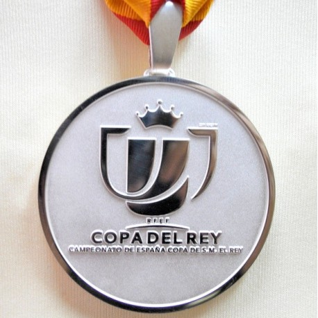 FC Barcelona Copa del Rey 2013-14 Runner-up medal