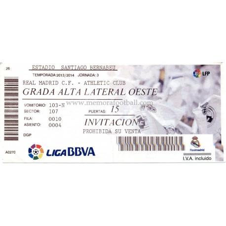 Real Madrid v Getafe LFP 2013/14