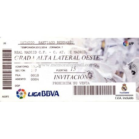 Real Madrid v Athletic Club LFP 2013/14