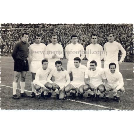 Real Madrid CF 1964/65 original photography