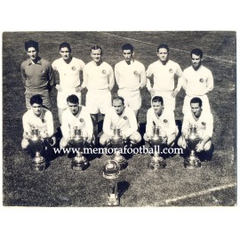 Real Madrid CF 1960 original photography