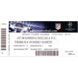 Atlético de Madrid v Chelsea FC Champions League 2013-2014
