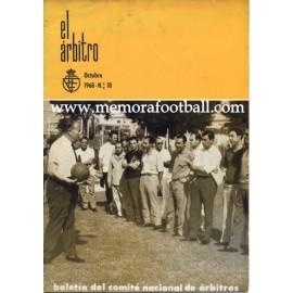 EL ÁRBITRO magazine 1969 nº18