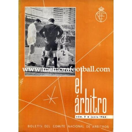 EL ÁRBITRO magazine 1964 nº2