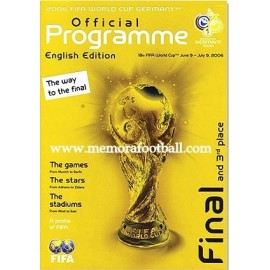 2006 FIFA World Cup Official Programme. English Edition