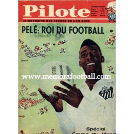 """Pilote"" Pelé: Roi du Football 31/05/1962"