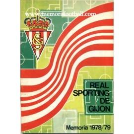 Memoria Sporting de Gijón 1978/79