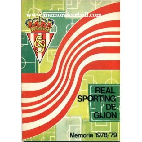 Sporting de Gijón 1973/74 Annual Report
