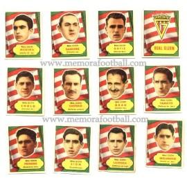 Colección de cromos Real Gijón 1952