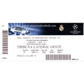 Real Madrid vs Manchester United - Champions League 2012/13