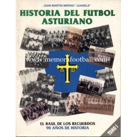 Historia de Fútbol Asturiano (1992-1995) 5 volúmenes