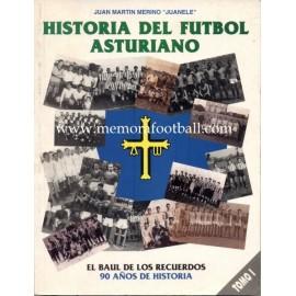 Historia de Fútbol Asturiano (1992-1995) 5 volumes