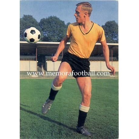 Siegfried Held (Borussia Dortmund) 1960s postcard