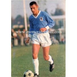 Friedhelm Konietzka (TSV 1860 München) 1960s postcard