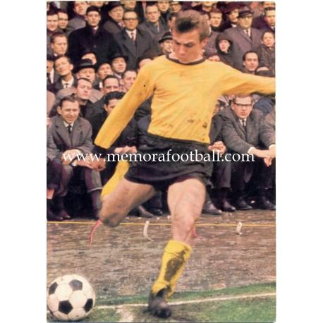 Reinhard Libuda (Borussia Dortmund) 1960s postcard