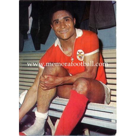 Eusebio (Benfica) 1960s postcard