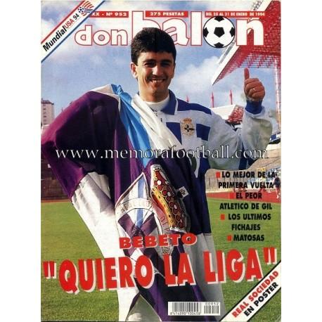DON BALON nº 953 25-31 January 1994