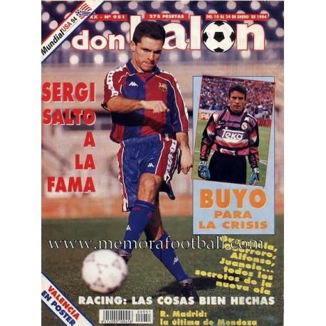 DON BALON nº 951 18-24 January 1994