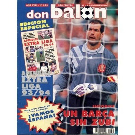 DON BALON nº 942 16 -22 Nov 1993