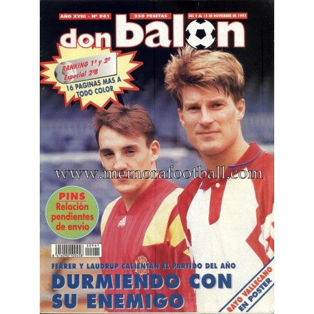 DON BALON nº 941 09 -15 Nov 1993