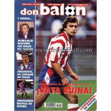 DON BALON nº 940 02 -08 Nov 1993