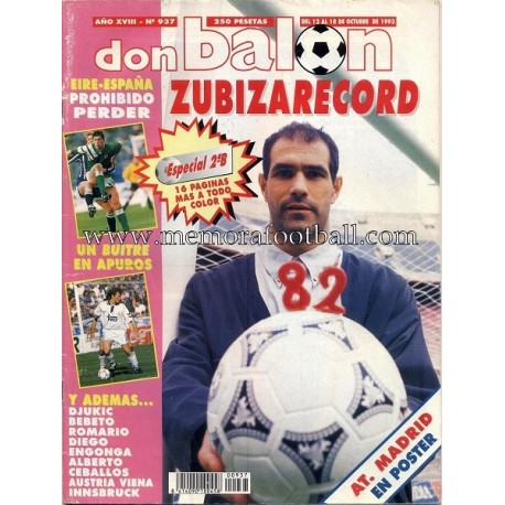 DON BALON nº 937 12-18 Oct 1993