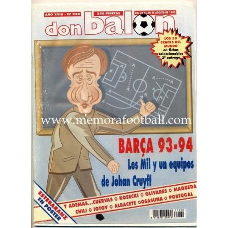 DON BALON nº 930 1993