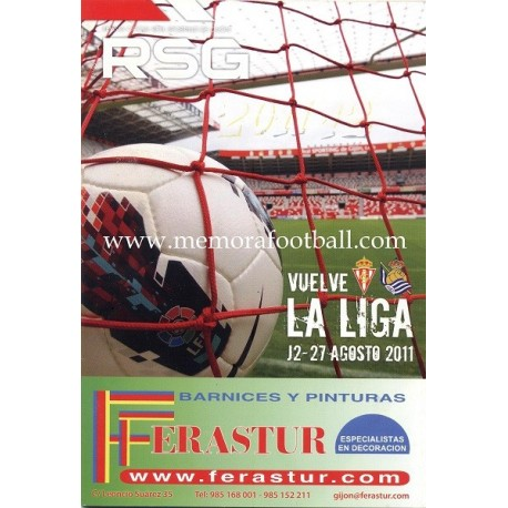 Official magazine of the Sporting de Gijon 2009-10 completed