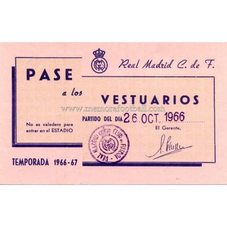 Real Madrid vs Peñarol 1966 Final Intercontinental Cup