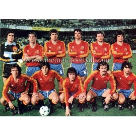 Spain National Team 1982 big card