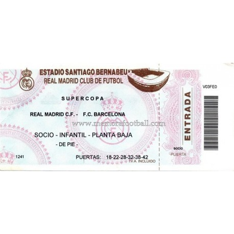 Real Madrid CF vs FC Barcelona 1997 Spanish Super Cup