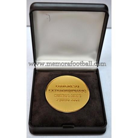 FIFA Buenos Aires Congress 2001 medal
