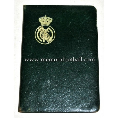 1946 Real Madrid CF membership card