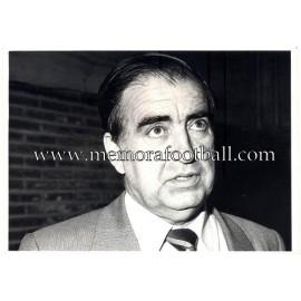 """José Manuel Bango"" Presidente Real Oviedo 1984-88"