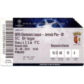 CS Braga v Sevilla FC 2010-11 Champions League