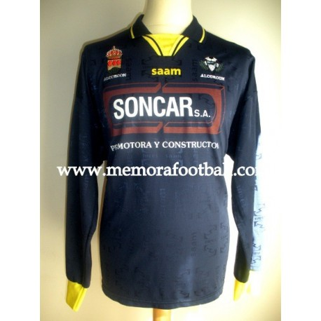 AD Alcorcón nº4 Spanish League 2ªB 2008/2009 match worn shirt