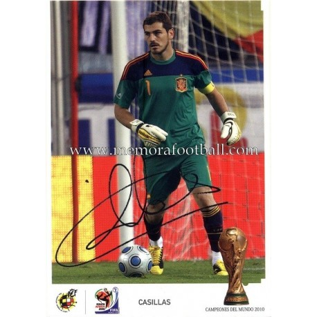 """IKER CASILLAS"" FIFA World Champion 2010"