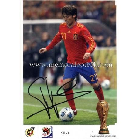"""SILVA"" FIFA World Champion 2010"