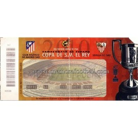 Final Copa de SM El Rey 2010 Atletico de Madrid vs Sevilla