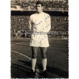 VICENTE MIERA foto firmada,1964