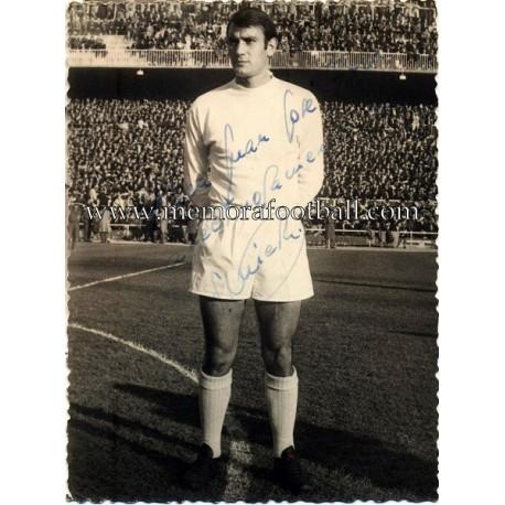Alfredo Di Stefano foto firmada, circa 1960