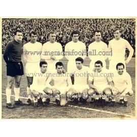 Real Madrid CF 1964/65 fotografía original