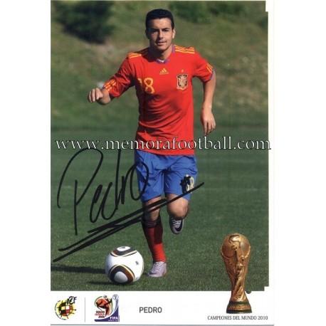 """PEDRO"" FIFA World Champion 2010"
