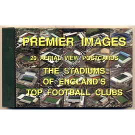 20 Aerial view Stadium Postcard, England