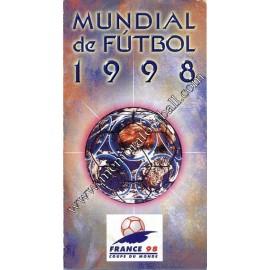 Calendario FIFA World Cup France 1998
