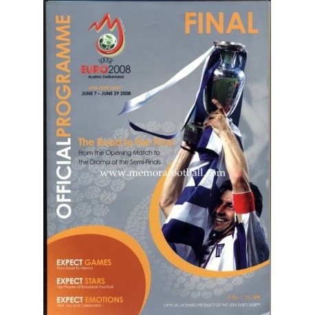 UEFA Euro 2008 Final Official Programme